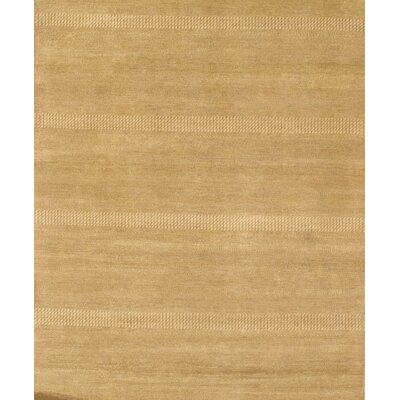 Sarouk Hand-Knotted Wool Beige Area Rug