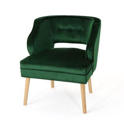 Heilig Mid Century Armchair Upholstery: Emerald