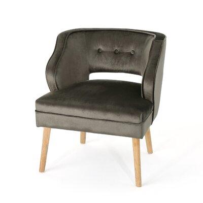 Heilig Mid Century Armchair Upholstery: Gray