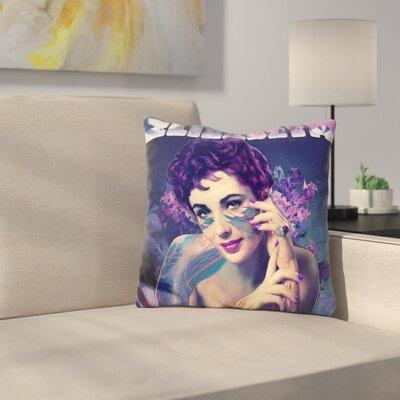 Liz Taylor Throw Pillow