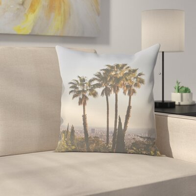 Luke Gram La Ii Throw Pillow Size: 16 x 16