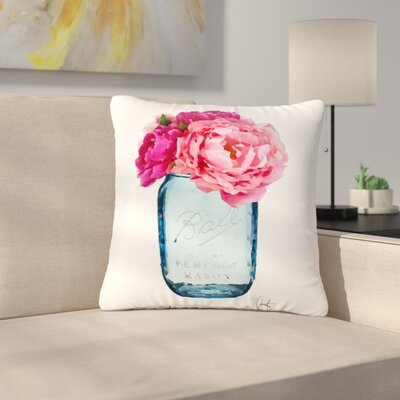 Oriana Cordero Perfect Mason Outdoor Throw Pillow Size: 18 H x 18 W x 5 D