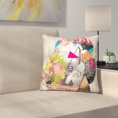 Veneno Throw Pillow