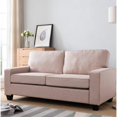 Paulk Modern Sofa Upholstery: Tan