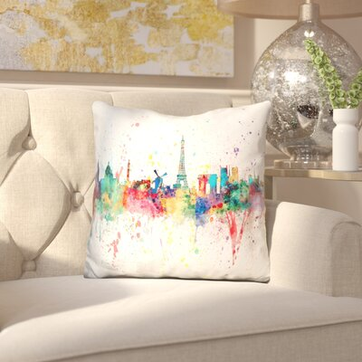 Isaiah Paris France Throw Pillow