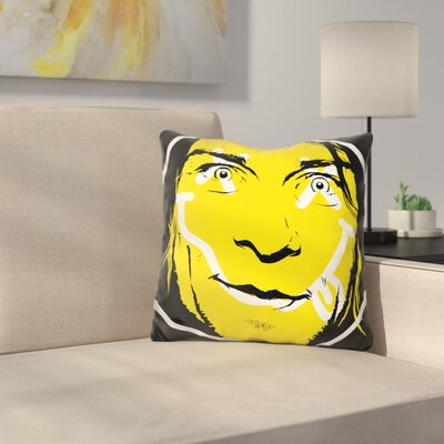 Supermouth Strikes Again Throw Pillow