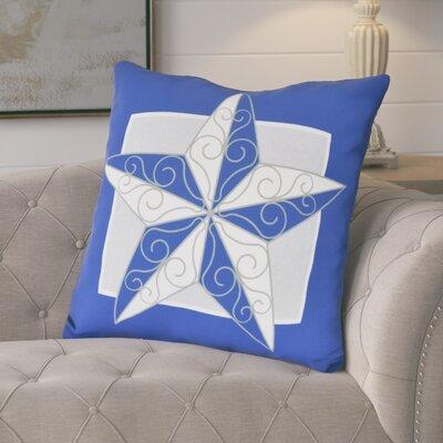 Lonie Night Star Euro Pillow Color: Royal Blue