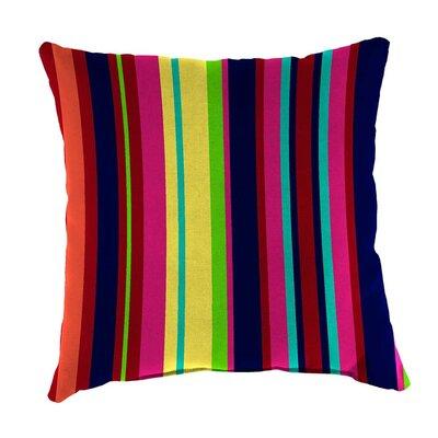 Classic Indoor/Outdoor Throw Pillow Size: 22 H x 22 x 8 D