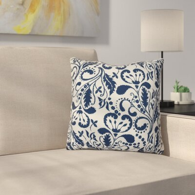 Harbin Throw Pillow Size: 16 H x 16 W x 3 D, Color: Blue