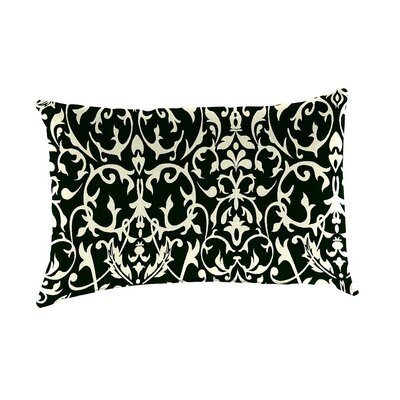Classic Indoor/Outdoor Lumbar Pillow Color: Pine Filigree