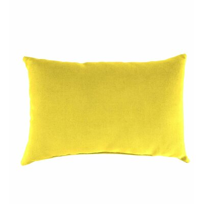 Classic Indoor/Outdoor Lumbar Pillow Color: Daffodil