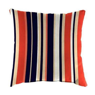 Classic Indoor/Outdoor Throw Pillow Size: 22 H x 22 x 8 D