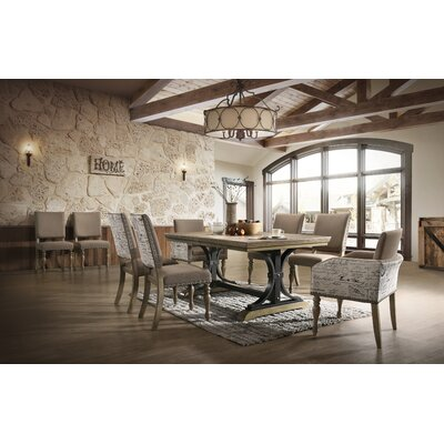 Alfano 9 Piece Drop Leaf Dining Set