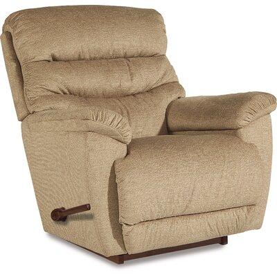 Joshua Reclina-Rocker� Recliner Upholstery: Linen, Motion Type: Rocker