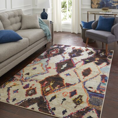 Locher Tan Area Rug Rug Size: Rectangle 8 x 10