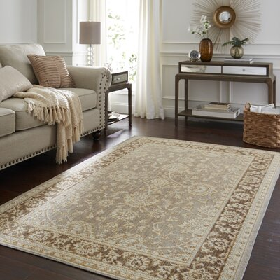 Park Slope Gray Area Rug Rug Size: Rectangle 5 x 8