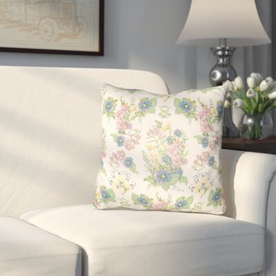 Dysart Indoor/Outdoor Throw Pillow Size: 20 H x 20 W x 3 D, Color: White