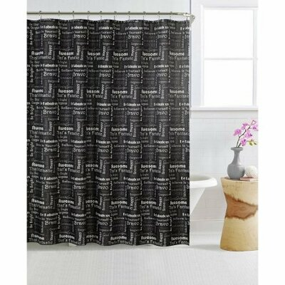 Pavonia Printed Shower Curtain