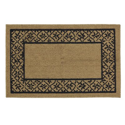 Gatton Modern Basics Blue/Brown Area Rug Rug Size: Rectangle 18 x 3