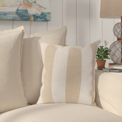 Hallinan Outdoor Throw Pillow Color: Decade Sand