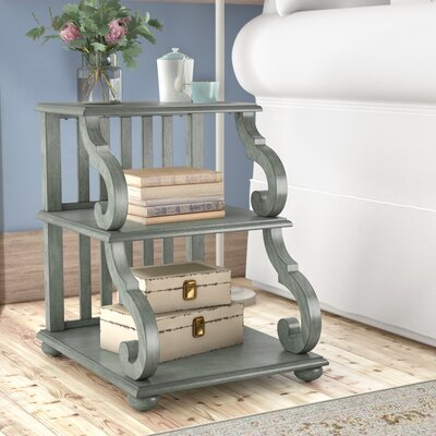 Noisettier End Table Color: Dark Sea Green
