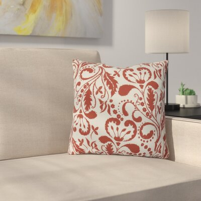Harbin Outdoor Throw Pillow Size: 16 H x 16 W x 3 D, Color: Orange