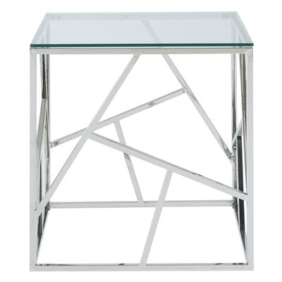 Seeman Stainless Steel End Table