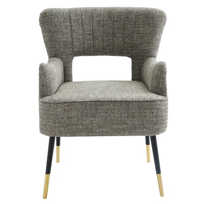 Guerrier Mid Century Armchair Upholstery: Camel Blend