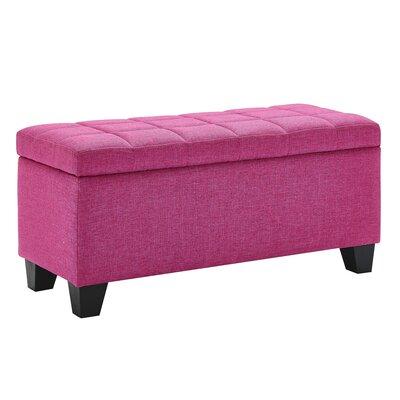 Pimentel Fabric Storage Ottoman Upholstery: Pink