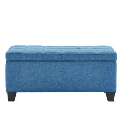 Pimentel Fabric Storage Ottoman Upholstery: Blue