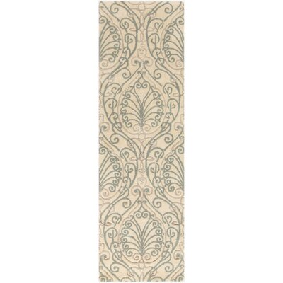 Modern Classics Silver Cloud Area Rug Rug Size: Runner 26 x 8