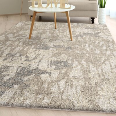 Greenberg Weathered Marble Plush Ivory Area Rug