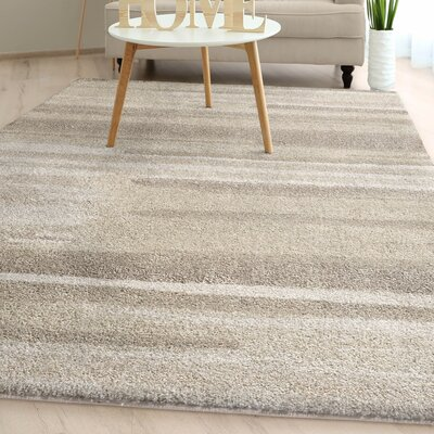 Manado Natural Watercolor Plush Ivory Area Rug