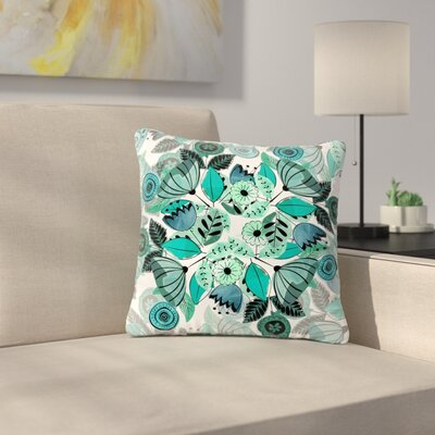 Famenxt Sognare Abstract Outdoor Throw Pillow Size: 18 H x 18 W x 5 D