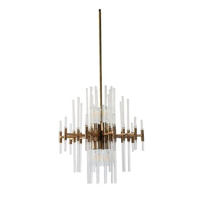 Hauge 8-Light Geometric Pendant