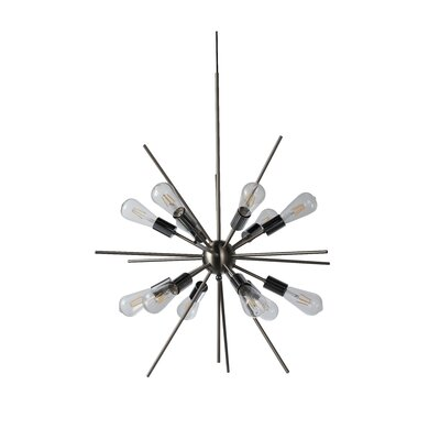 Hageman 12-Light Sputnik Chandelier