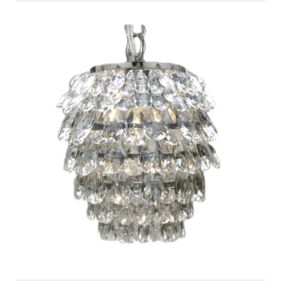 Jules 1-Light Crystal Pendant