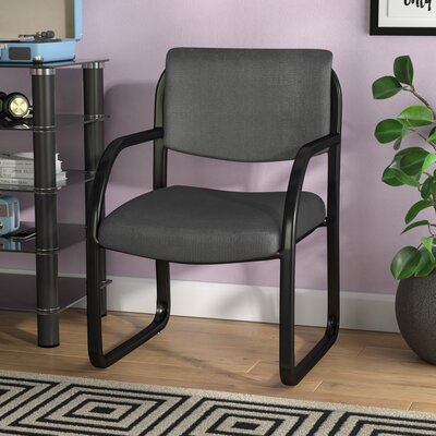 Annalee Guest Chair Color: Charcoal-Gray