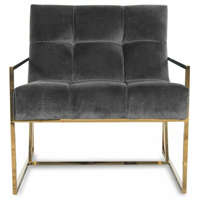 Santorini Armchair Upholstery: Indigo Blue