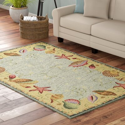 Livia Ocean Surprise Novelty Rug Rug Size: Rectangle 53 x 83