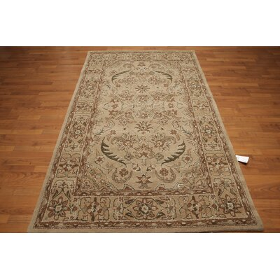 One-of-a-Kind Howarth Hand-Tufted Wool Brown/Beige Area Rug