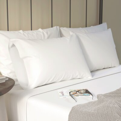 Aspen Sheet Set Size: Full, Color: White