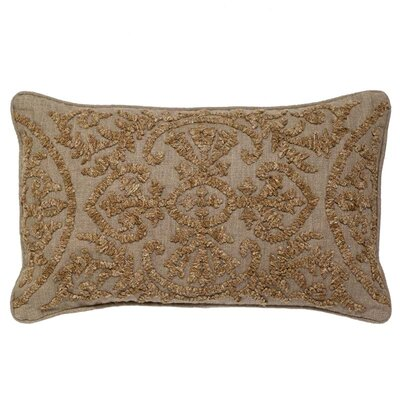 McGuinness Boucle Embroidery Linen Pillow Cover