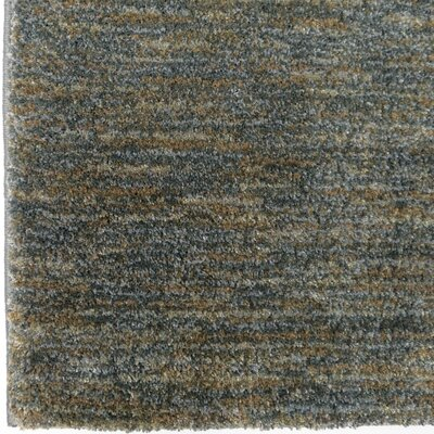 Castrejon Solid Design Blue/Green Area Rug Size: Runner 111 X 76