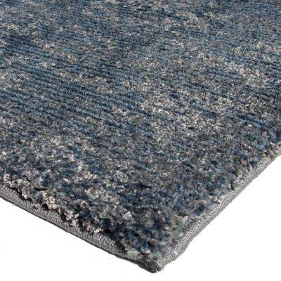 Catalan Solid Design Indigo/Blue Area Rug Size: Runner 111 X 76
