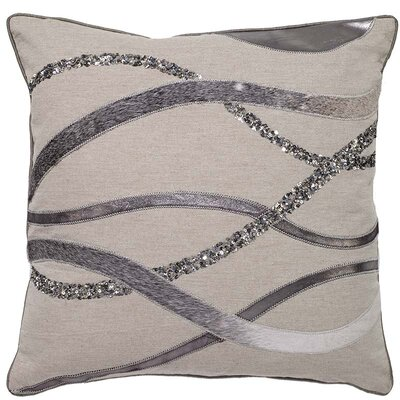 Haught Hide Wavy Stripe Pillow Cover