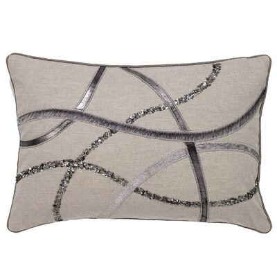 Haugen Hide Wavy Stripe Pillow Cover
