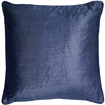 Mcgriff Shimmer Pillow Cover Color: Navy