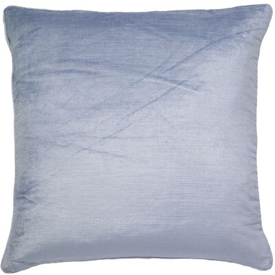Mcgriff Shimmer Pillow Cover Color: Skyblue