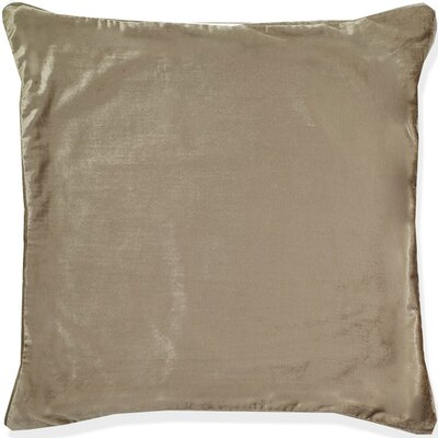 Mcgriff Shimmer Pillow Cover Color: Beige